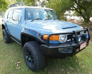 2013 Toyota FJ Cruiser GSJ15R MY14 Blue 5 Speed Automatic Wagon Hidden Valley Darwin City Preview