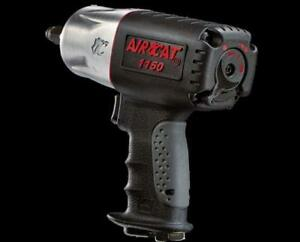 "Aircat Killer Torque Composite Impact Wrench 1/2"" w/SILENT POWER"