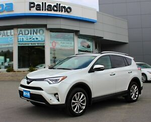 2016 Toyota RAV4 Limited - LIKE NEW! - HEATED STEERING WHEEL/SEA