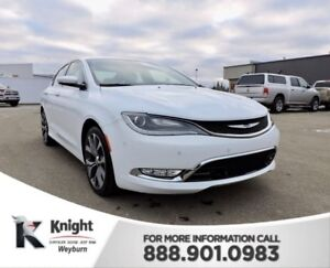 2016 Chrysler 200 C NAV Heated/Cooled Leather Remote Start