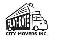 FLAT-RATE CITY MOVERS