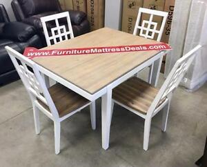 Brand New Dining room sets ranging from $380-$2000