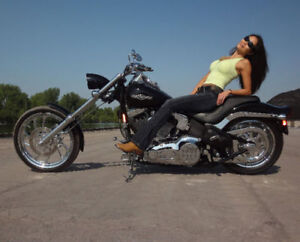 HARLEY DAVIDSON CUSTOM BUILT CHOPPER **NIGHTRAIN ** NEW!!!!!