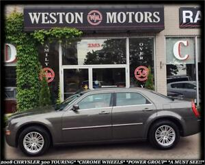 2008 Chrysler 300 TOURING*AWD*CHROME WHEELS*POWER GROUP*A MUST S
