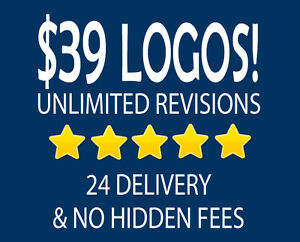 $39 Logo Design in Kitchener / Waterloo - ⭐⭐⭐⭐⭐ Service!
