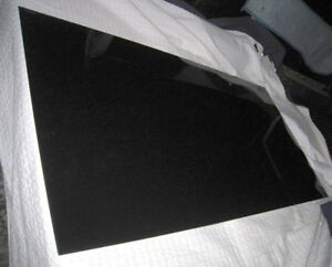 Large rectangular Black tempered Glass in great condition