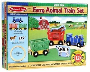 Melissa & Doug Farm Animal Train Set - Brand new Kitchener / Waterloo Kitchener Area image 1