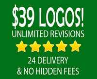$39 Logo Design in the Regina Area - ⭐⭐⭐⭐⭐ Service!