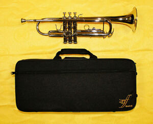 B Flat Silver, Gold Trumpet Brand New, and other color and size!