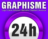 Graphiste-infographiste Cartes d'affaires logo, infographie