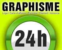 Graphiste-infographiste Cartes d'affaires logo (grafiste)
