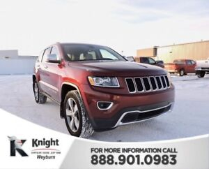 2016 Jeep Grand Cherokee Limited Heated Leather Remote Start NAV