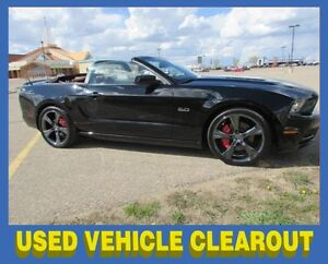 2013 Ford Mustang GT 5.0L Convertible w/LEATHER