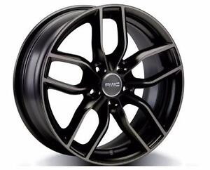 "MAGS AUDI D'HIVER  NEUFS 17"" A4 A5 Q5 A6 NOIR 699$ *DIRECT FIT* / NEW AUDI WINTER MAGS"