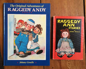RAGGEDY ANN & ANDY original books - 2 for $10