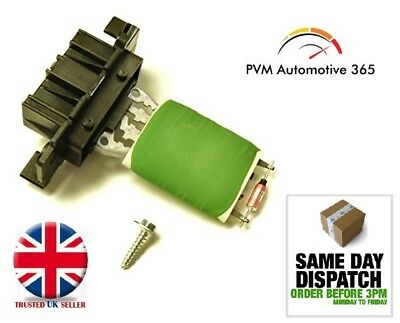 Brand New Heater Blower fan Resistor for Vauxhall Corsa D / E MK3 & Mk4 13248240