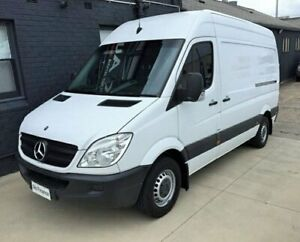 2012 Mercedes-Benz Sprinter 906 MY12 316 CDI MWB White 7 Speed Automatic Van Peakhurst Hurstville Area Preview