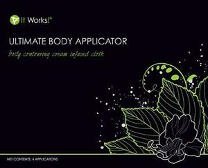 IT WORKS!  ULTIMATE BODY APPLICATOR 45 MINUTES TO TIGHTEN, FIRM, TONE YOUR SKIN!  HIDE STRETCH MARKS, SCARS, ETC