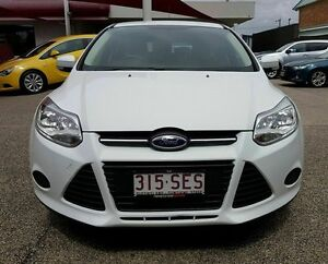 2012 Ford Focus LW MKII Ambiente White Automatic Hatchback Mackay Mackay City Preview