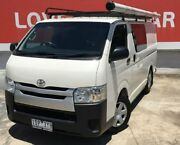 2014 Toyota Hiace KDH201R MY14 LWB White 4 Speed Automatic Van Preston Darebin Area Preview