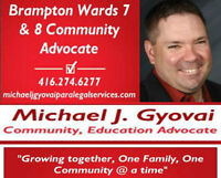 Brampton and Wards 7 & 8 Community Advocate