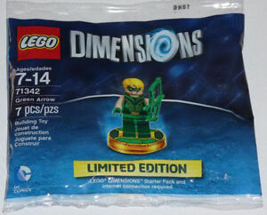 LEGO Dimensions Green Arrow LIMITED EDITION Minifigure E3
