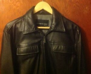 Kenneth Cole leather jacket (NEW)