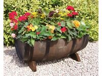Genuine Solid Oak Ex-Whisky Barrels / Planters