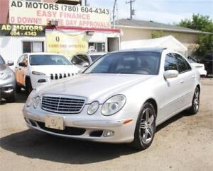ON SALE NOW!!   2004 MERCEDES BENZ E500 4MATIC AMG PACKAGE..!!