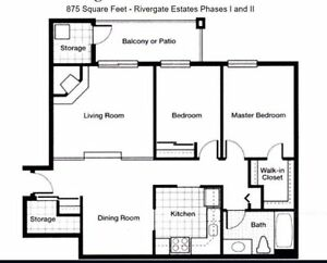 $919 - Large Two Bedroom Apartment - Henderson Hwy- July 15