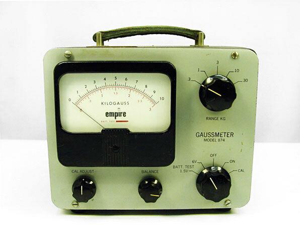 Filtors Empire Scientific 874 Gaussmeter
