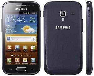 GALAXY ACE 2 SAMSUNG BELL + VIRGIN OU TELUS MOBILITÉ WIFI TOUCH 3G ANDROID CELL PHONE CELLULAIRE CELLULAR 100% WORKING