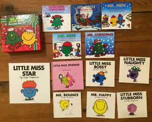 MR MEN and LITTLE MISS books all 12 for $30
