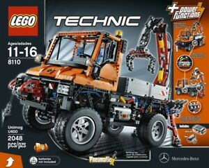 Lego Technic Mercedes-Benz Unimog U400 (8110) - sealed