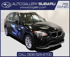 2015 BMW X1 PREMIUM PACKAGE   PST PAID   ONLY 27,510 KM'S