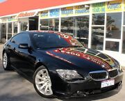 2007 BMW 650ci E63 Black 6 Speed Auto Steptronic Coupe Cannington Canning Area Preview