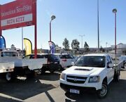 2008 Holden Colorado RC LX 4x2 White 5 Speed Manual Cab Chassis Bellevue Swan Area Preview