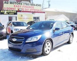 """PRICE REDUCED"" 2013 CHEVROLET MALIBU LS AUTO 90K 100% FINANCING"