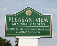 Pleasentview Memorial Gardens - 2 Burial Plots (Side by Side)