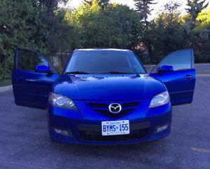 2007 Mazda3 GT Sport Sedan **LOW KMS** GREAT BUY!!!!!