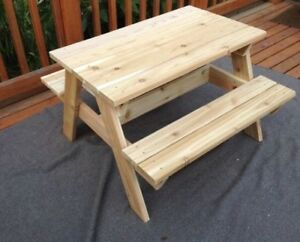 Family picnic table or kids picnic table
