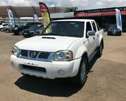 2013 Nissan Navara D22 S5 ST-R DUAL CAB White Manual Utility Garbutt Townsville City Preview