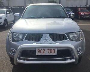 2010 Mitsubishi Triton MN MY10 GLX-R Double Cab Silver 5 Speed Sports Automatic Utility Berrimah Darwin City Preview