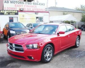 SOLD.. Call or text 780-604-4343  2012 DODGE CHARGER SXT S-ROOF