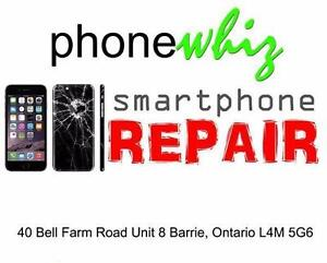 IPHONE 6 / 6 PLUS SCREEN REPAIRS - WE OFFER PRICE MATCH GUARANTEE IN THE BARRIE AREA - PHONEWHIZ BARRIE 705-999-0054
