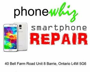 SAMSUNG GALAXY S5 SCREEN REPAIRS - PHONEWHIZ BARRIE (705) 999-0054