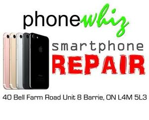 APPLE IPHONE 7 / 7 PLUS SCREEN REPAIRS  - PHONEWHIZ BARRIE