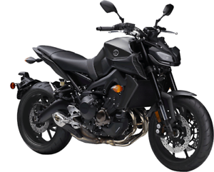 YAMAHA MT09AJB 2018 DEMO