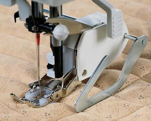 Even Feed / Walking foot Sewing Machine Presser Foot + Quilt Quide-Brother SA140