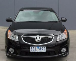2012 Holden Cruze JH Series II MY13 SRi Black 6 Speed Sports Automatic Sedan